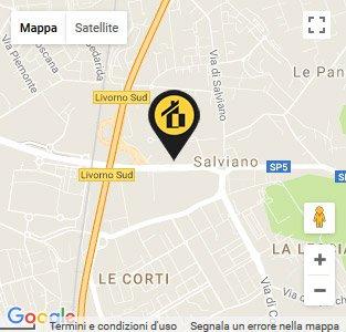 Mappa-Livorno